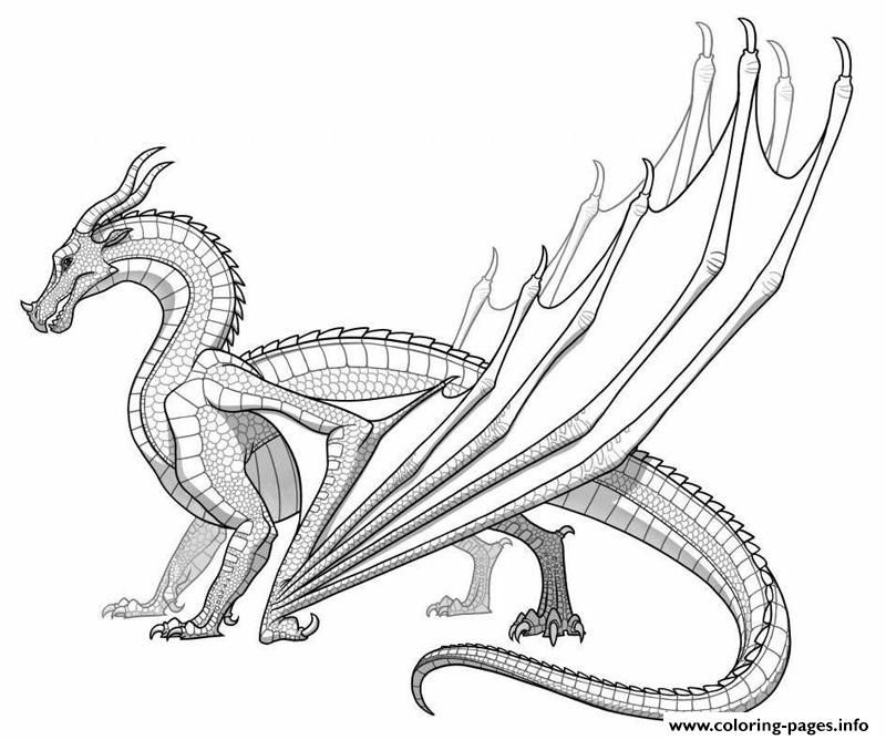 print realistic dragon for adults coloring pages dragon