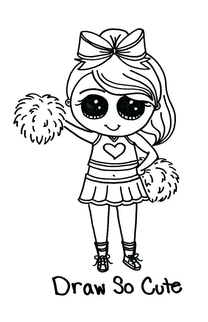 printable cheerleading coloring pages coloring pages home
