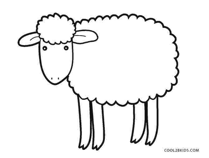 printable coloring page of sheep free printable sheep face