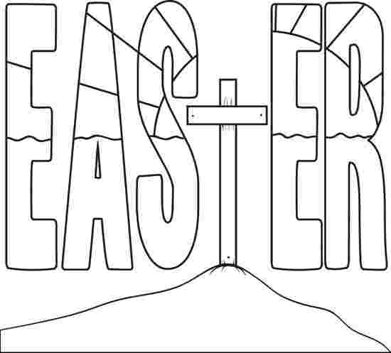 printable coloring pages easter religious free coloring