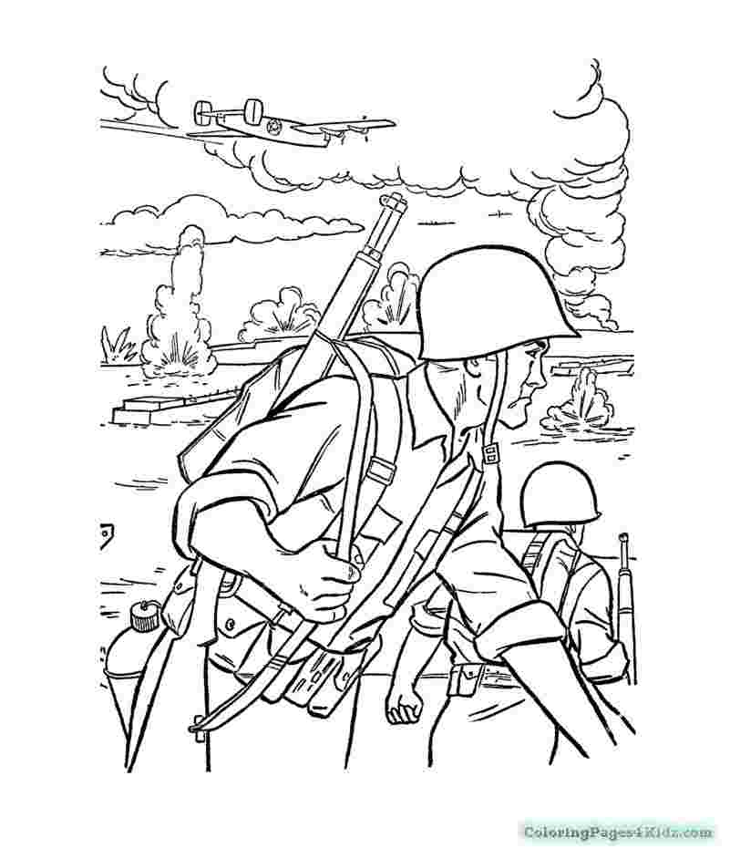 printable coloring pages for military hard coloring pages