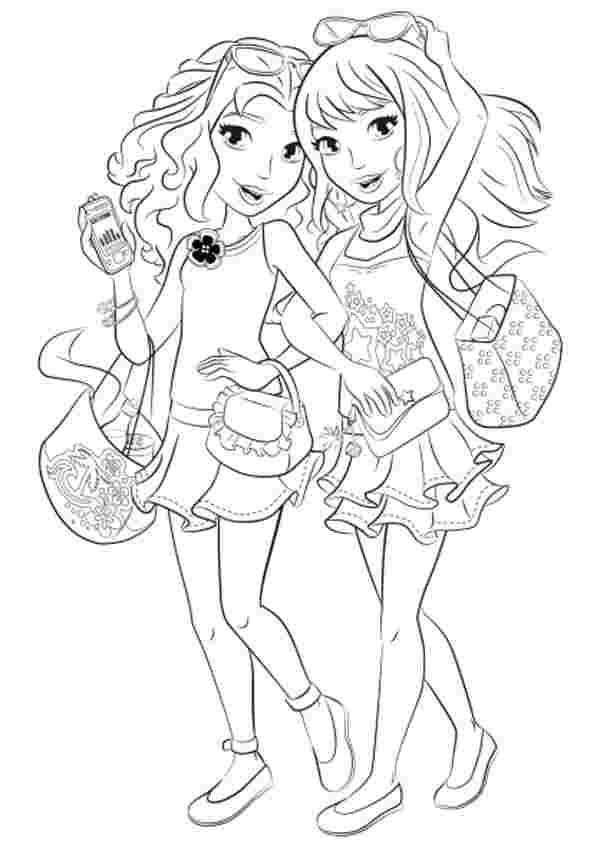 printable coloring pages lego friends huangfei