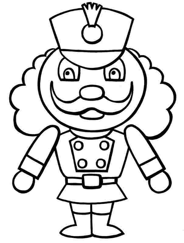 printable coloring pages nutcracker huangfei