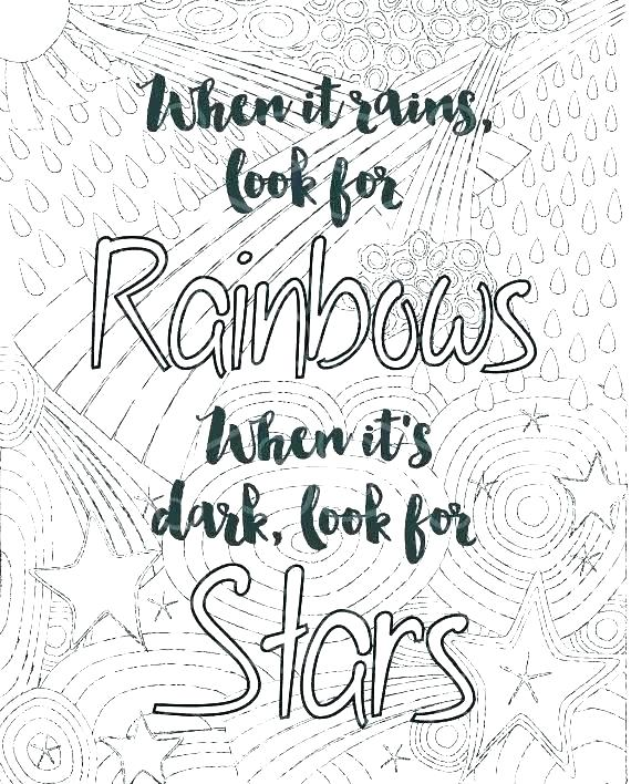 printable coloring pages positive quotes pusat hobi