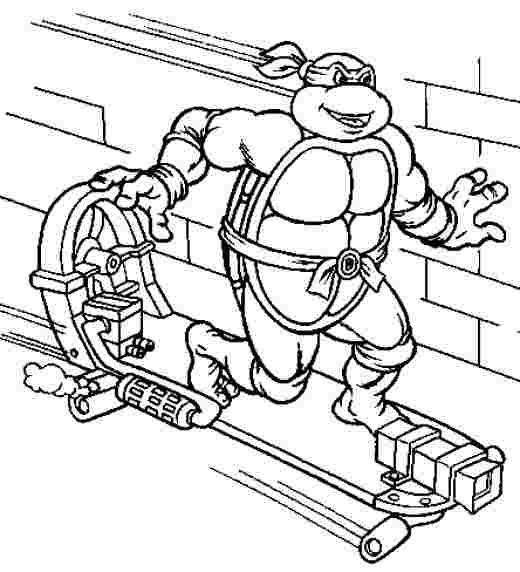 printable coloring pages teenage mutant ninja turtles