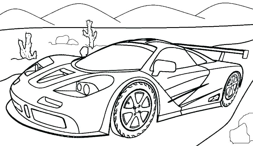 printable coloring pictures of cars pusat hobi