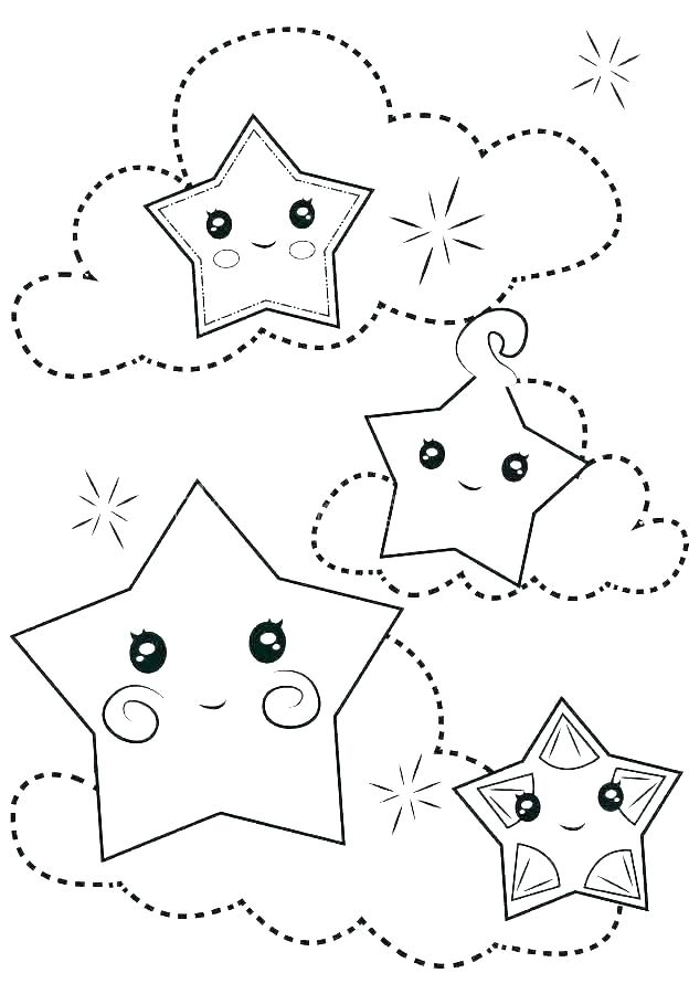 printable coloring pictures of stars pusat hobi