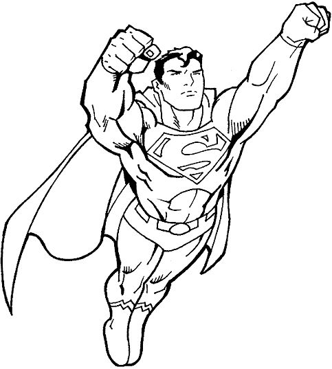 printable kids coloring pages disney superman252bcoloring
