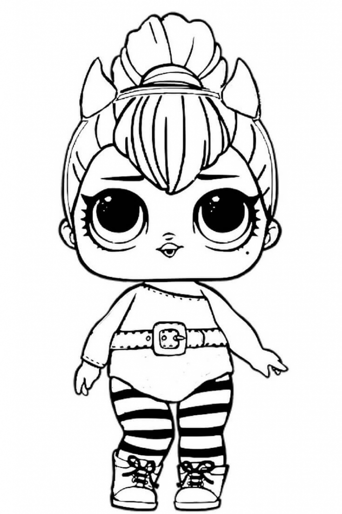 printable lol dolls coloring pages collection fun for kids