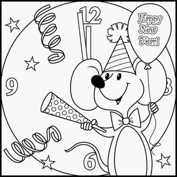 printable new years coloring pages new year fireworks