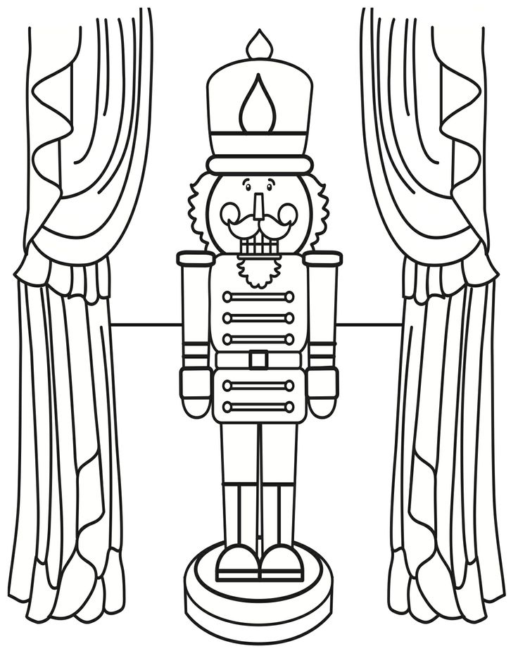 printable nutcracker coloring pages at getdrawings