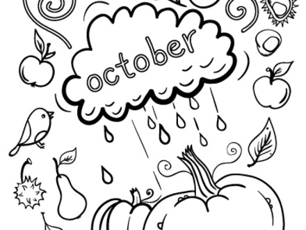 printable october coloring pages at getdrawings free