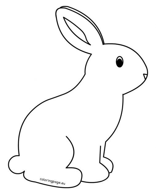 printable rabbit coloring pages for kids malvorlage hase