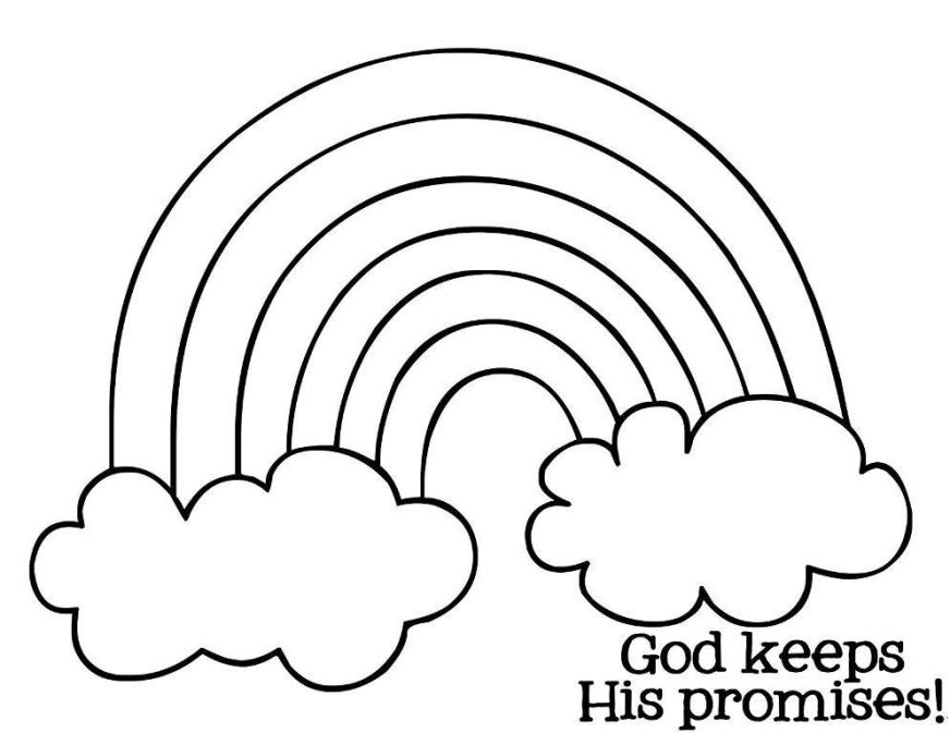 printable rainbow coloring pages for kids