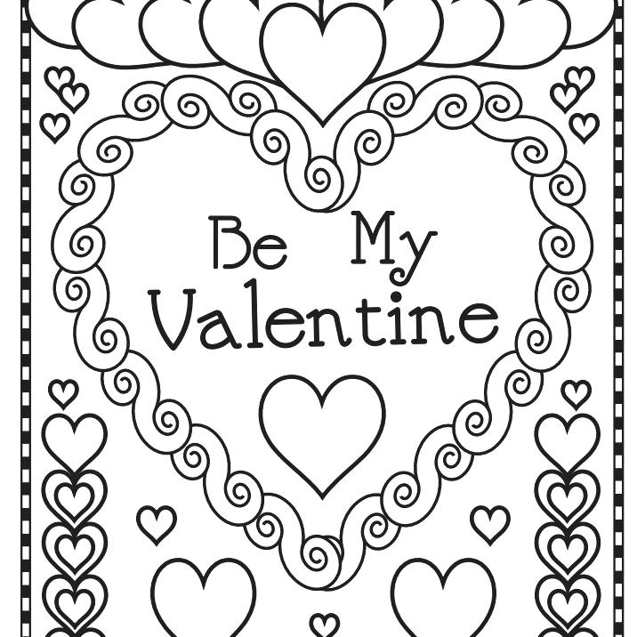 printable valentines day coloring pages sheets free secret