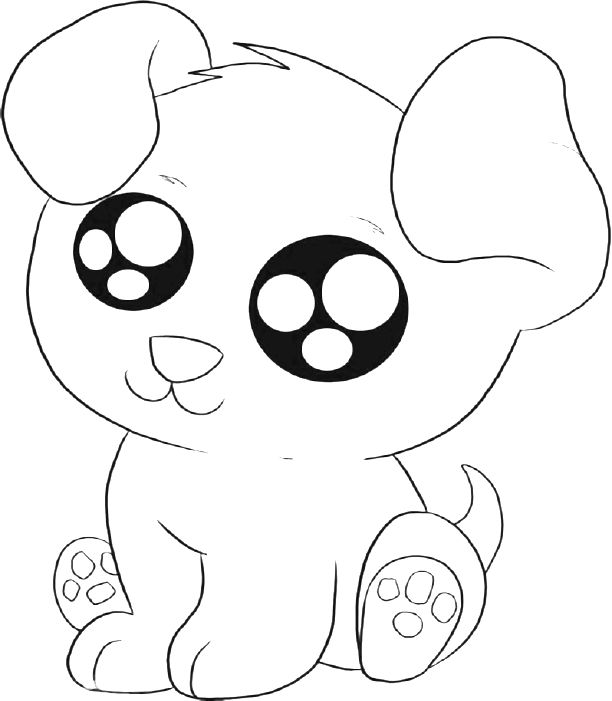 puppy coloring pages for preschoolers