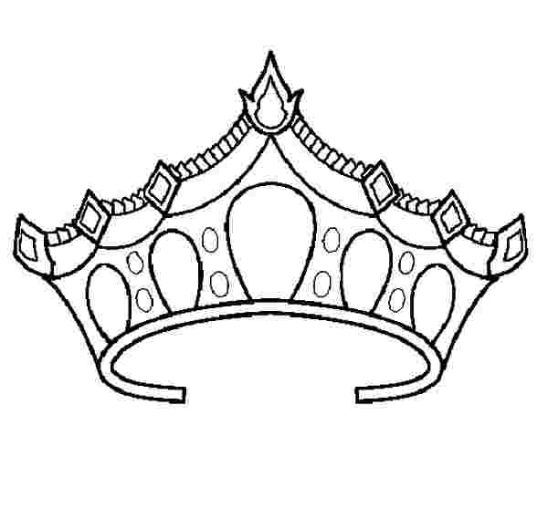 queen crown coloring pages queen crown coloring page at