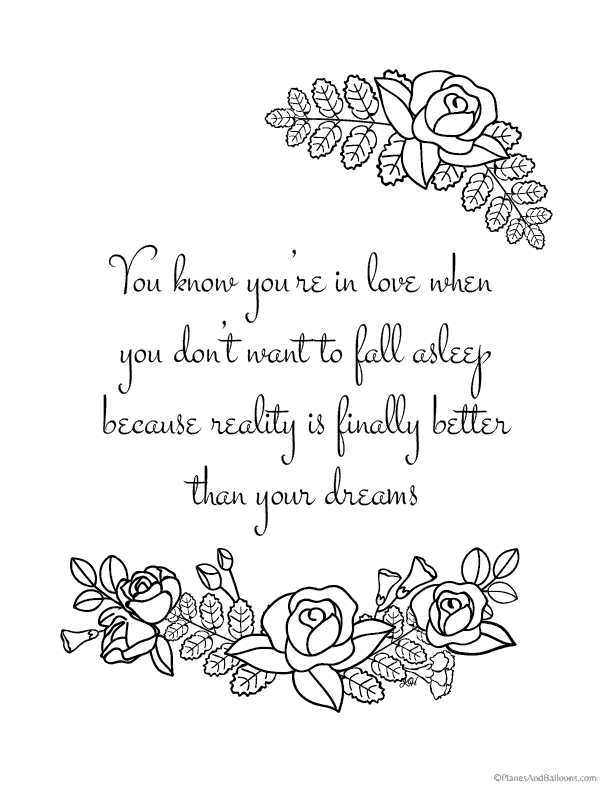 Coloring Pages Quotes Collection - Whitesbelfast
