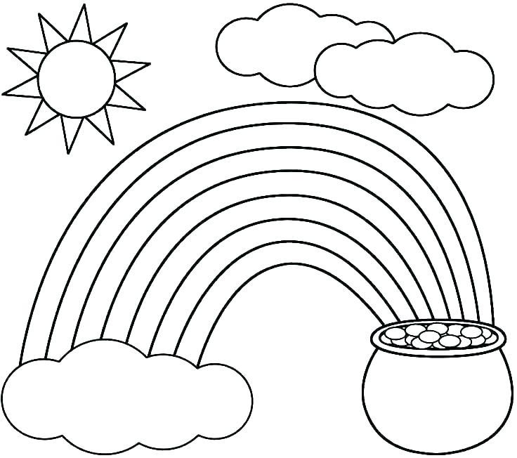 rainbow coloring page printable bikkuriyasgikiclub