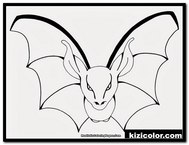 realistic bat coloring pages 1 kizi free coloring pages