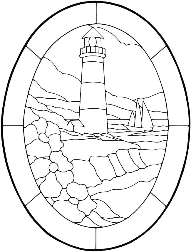 realistic lighthouse coloring pages at getdrawings