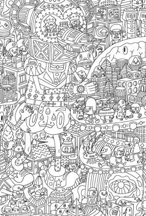 relax with these 168 free printable coloring pages for