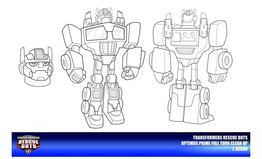rescue bots bumblebee coloring pages coloring page
