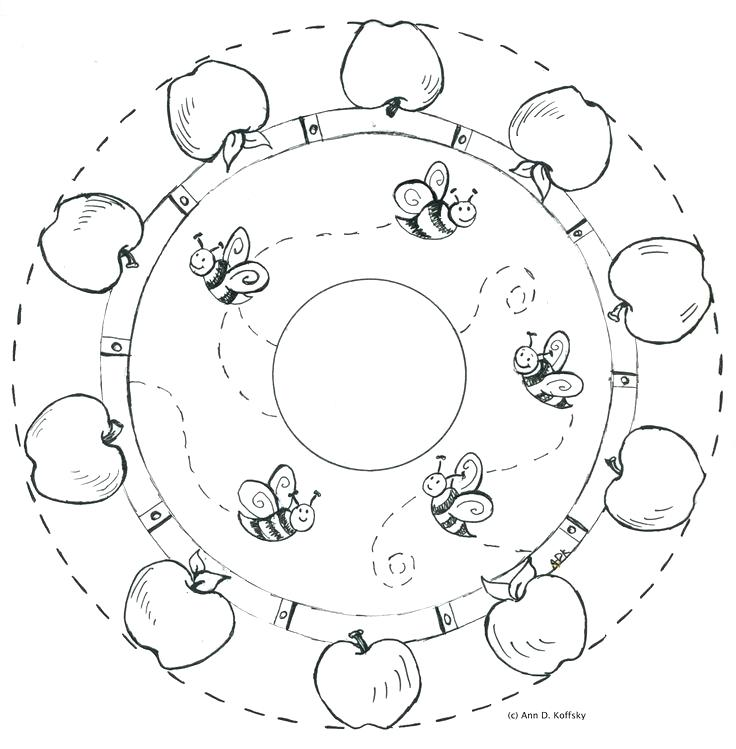 rosh hashanah coloring pages printable at getdrawings