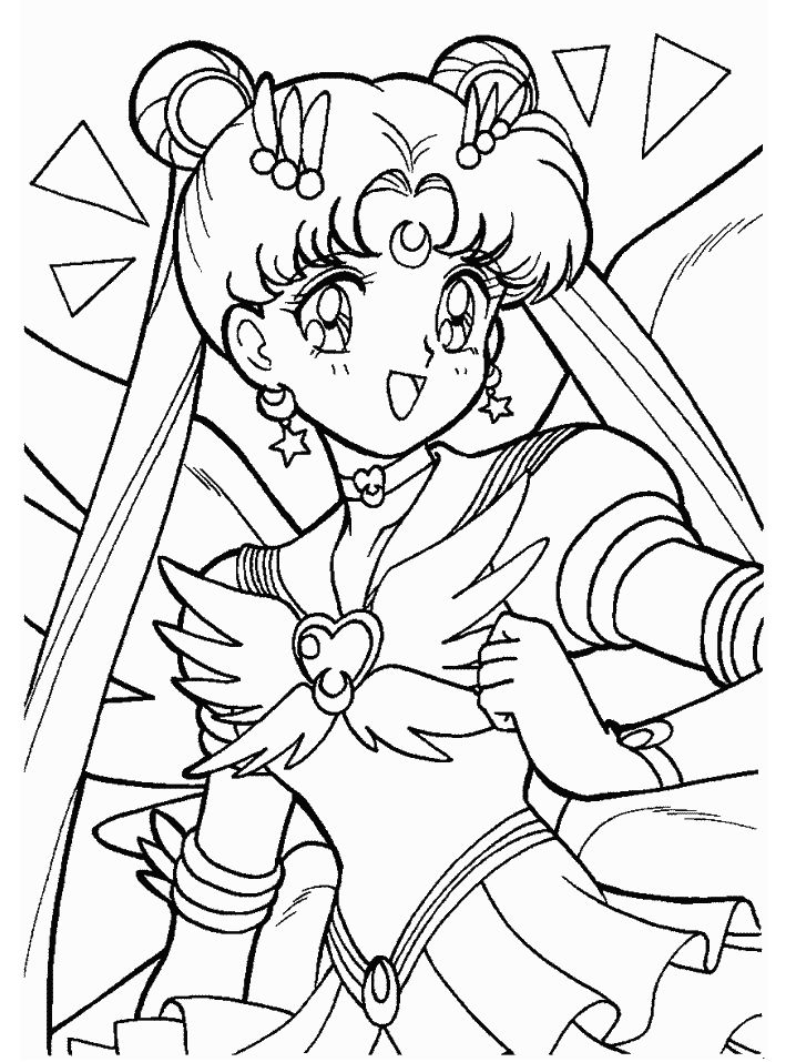 sailor moon coloring pages meine leidenschaft one piece
