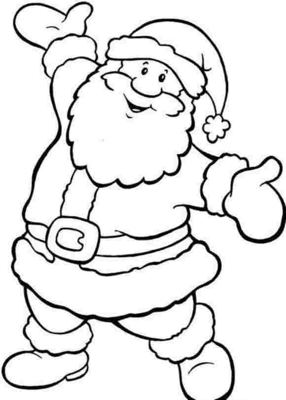 santa coloring sheets free free printable santa coloring