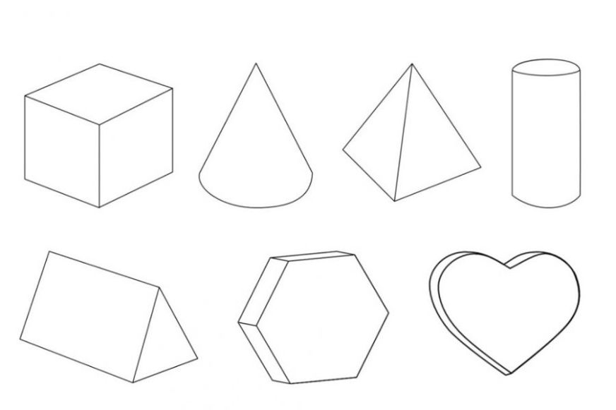 shapes coloring pages at getdrawings free for personal