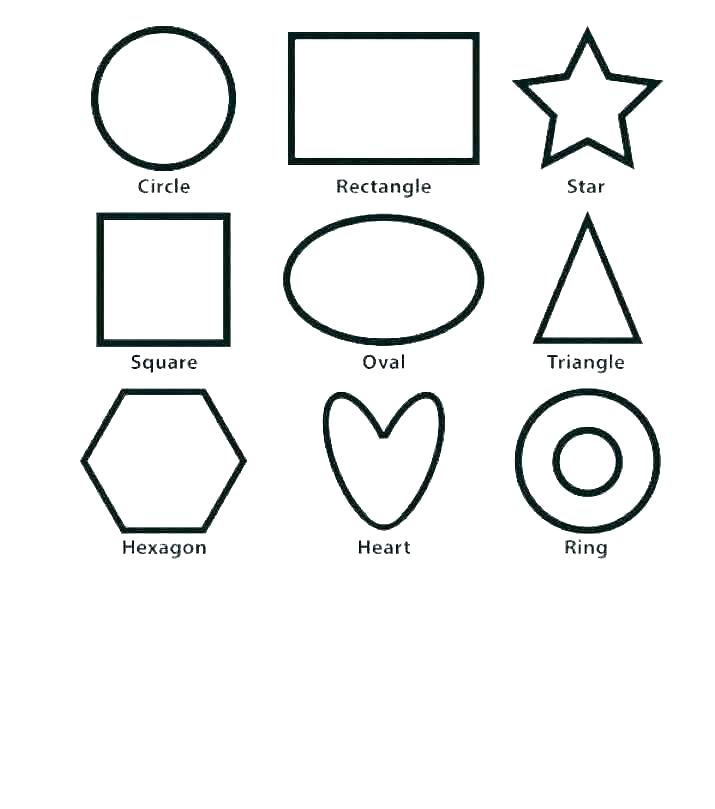 shapes coloring pages for preschool hottestnews