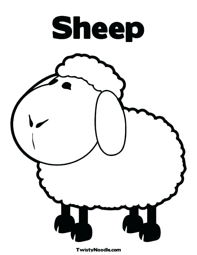 sheep coloring pages to print at getdrawings free for