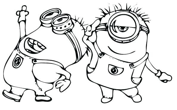 shocking coloring pages despicable me for girls picolour