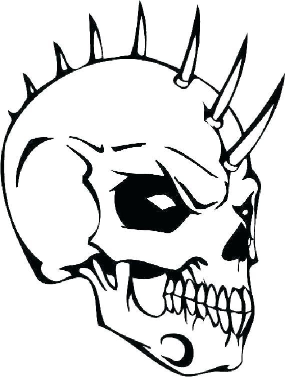 skull coloring pictures beginnerukulele