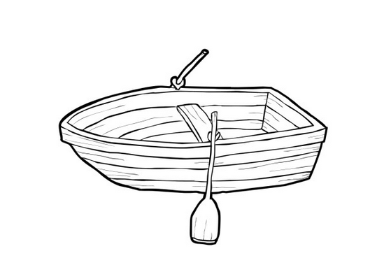 small row boat coloring page free printable coloring pages