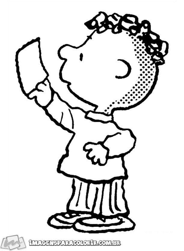 snoopy imagens para colorir charlie brown peanuts