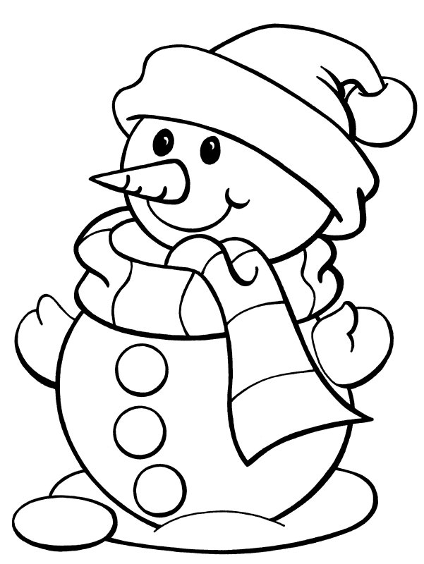 snowman 2 characters printable coloring pages