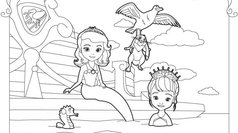 sofia the first coloring pages ausmalbilder sofia die