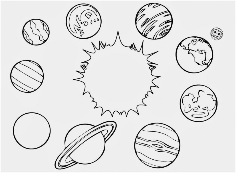 solar system coloring pages pics planet coloring pages to