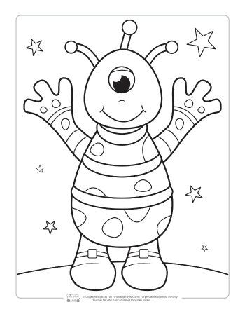 space coloring pages for kids coloring pages space