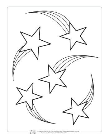 space coloring pages for kids space coloring pages star