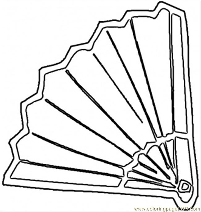 spanish fan coloring page free spain coloring pages