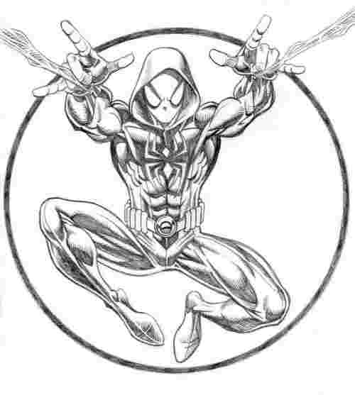 spider man miles morales coloring pages how to draw miles