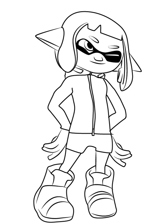 splatoon coloring pages coloring pages coloring pages for