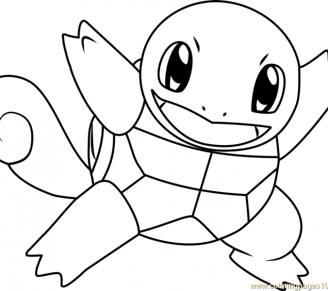 squirtle pokemon coloring pages download fun for kids