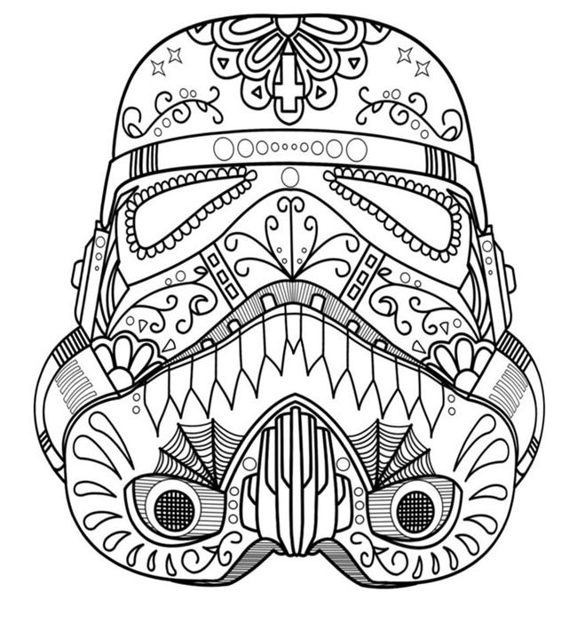 star wars free printable coloring pages for adults kids