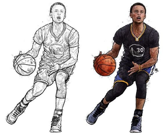 stephen curry coloring pages to print stephen curry