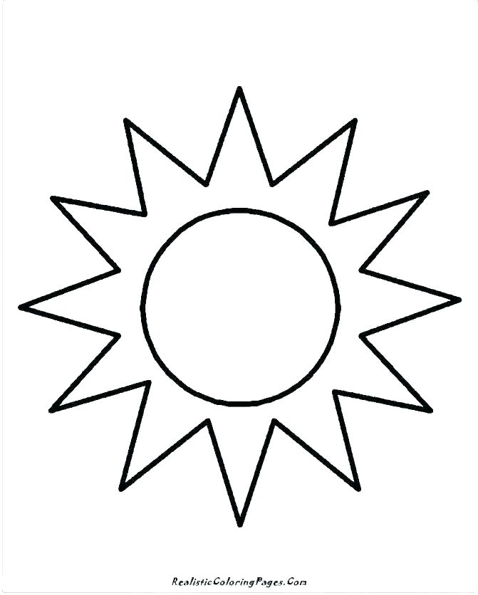 sun coloring page at getdrawings free for personal use