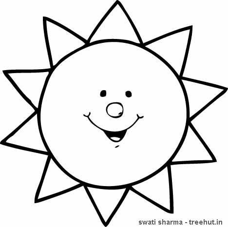 sun coloring page presxhool google search malvorlagen